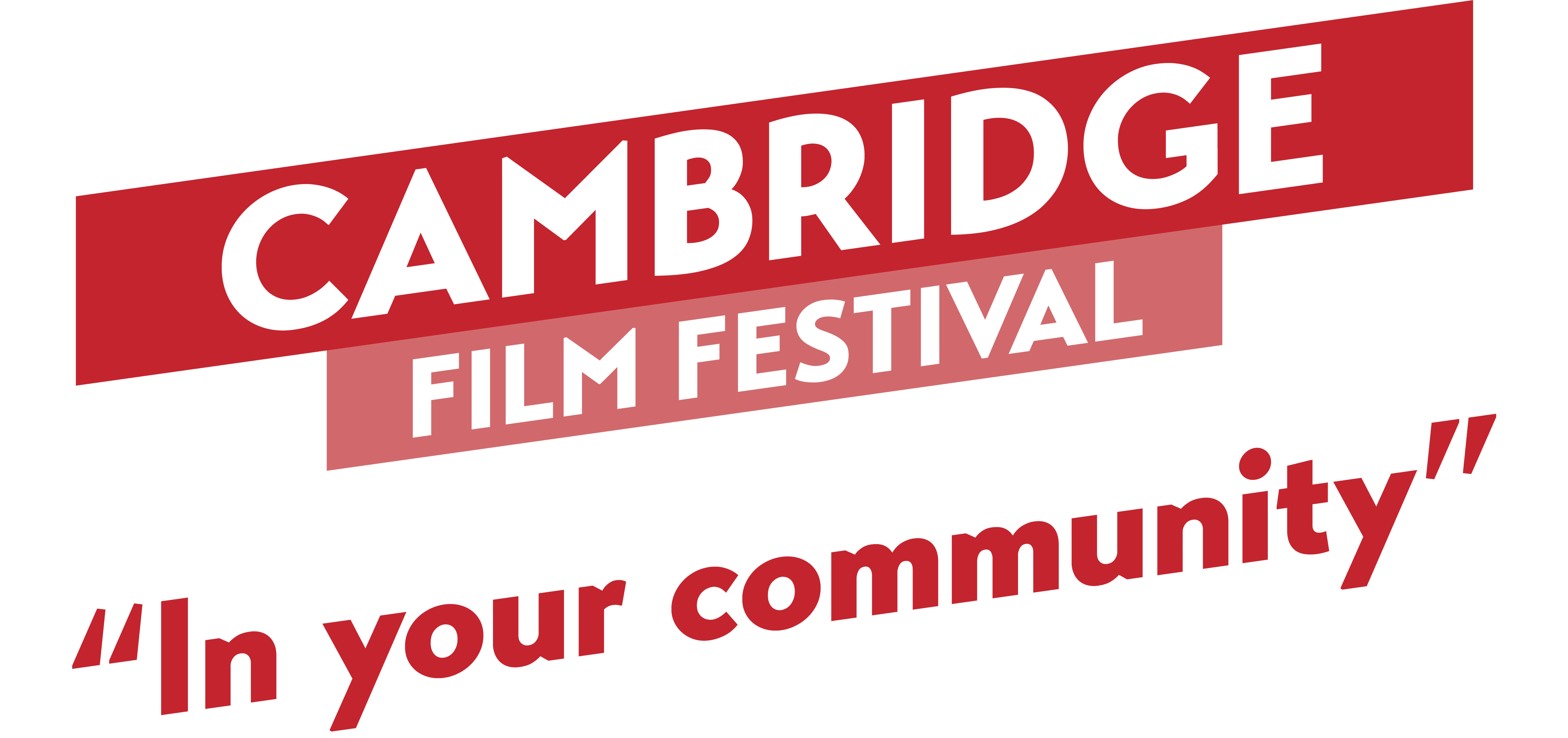 Cambridge Film Festival 'In Your Community' logo